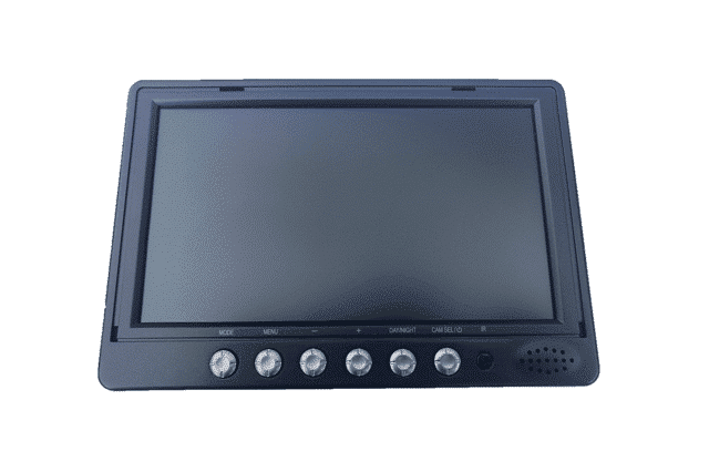 VUEK7QMON 7 Inch LCD Quad Monitor
