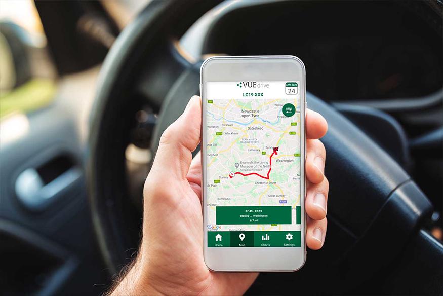 VUEdrive App: Driver feedback app