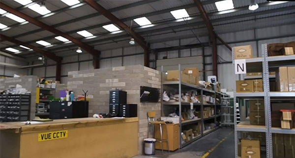 VUE warehouse