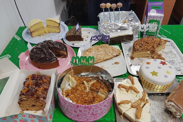 Macmillan coffee morning VUEgroup