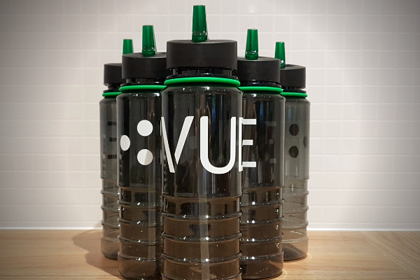 water bottles VUEgroup Recycling