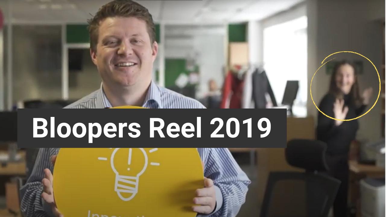 Bloopers reel 2019