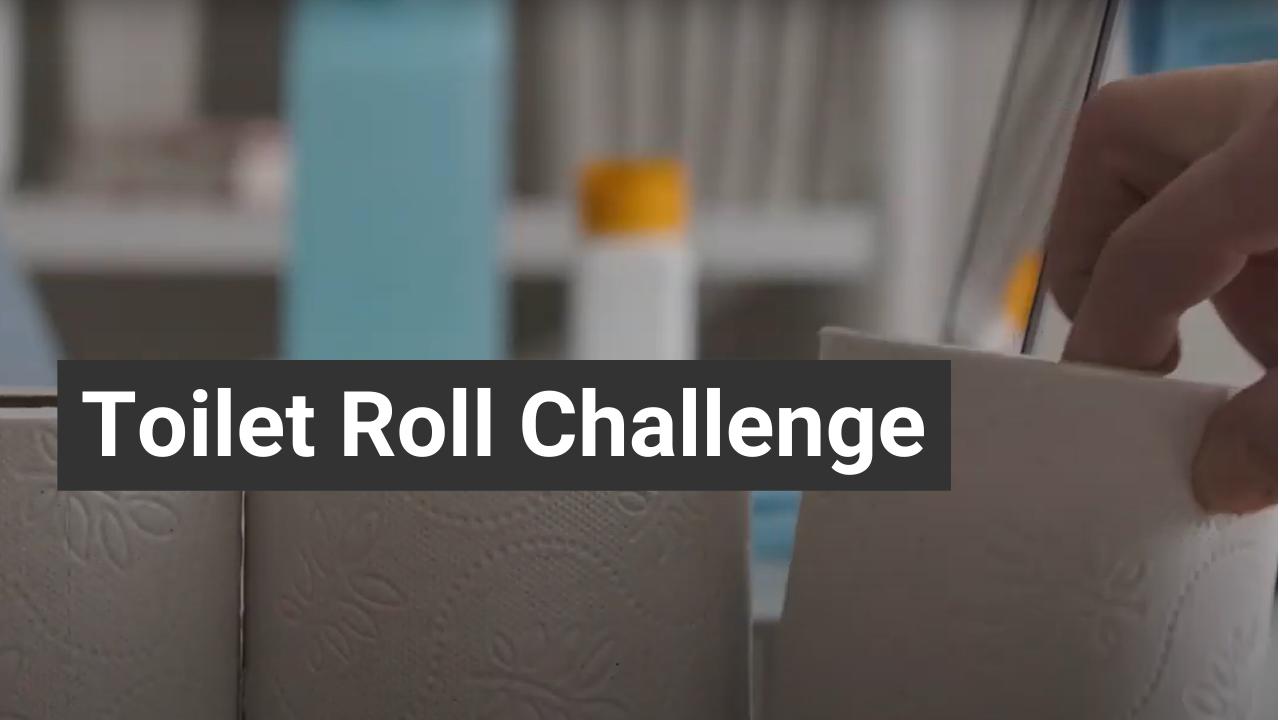 toilet roll challenge vue