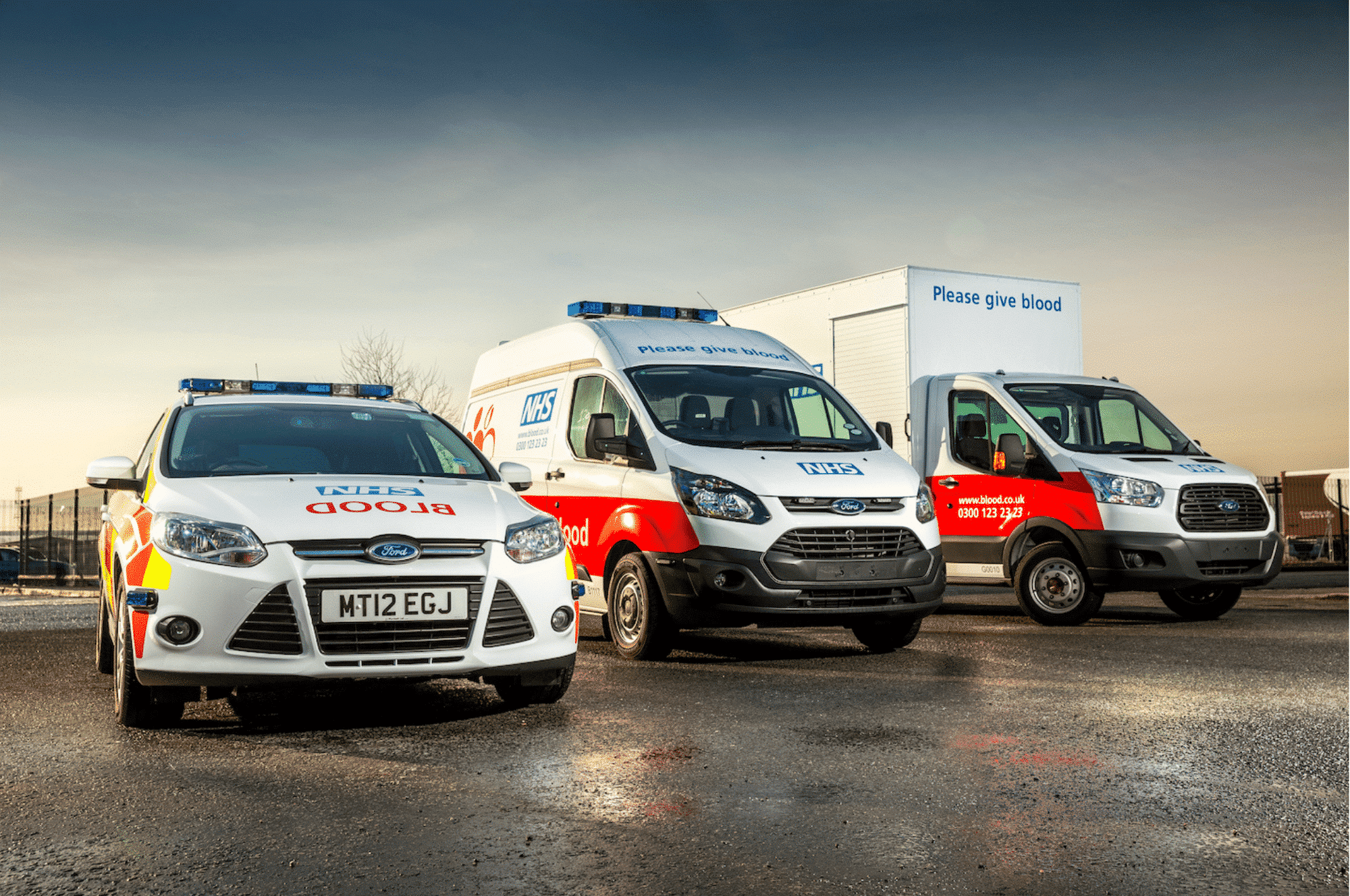 Return On Investment Using Video Telematics NHS Blood And Transplant Fleet