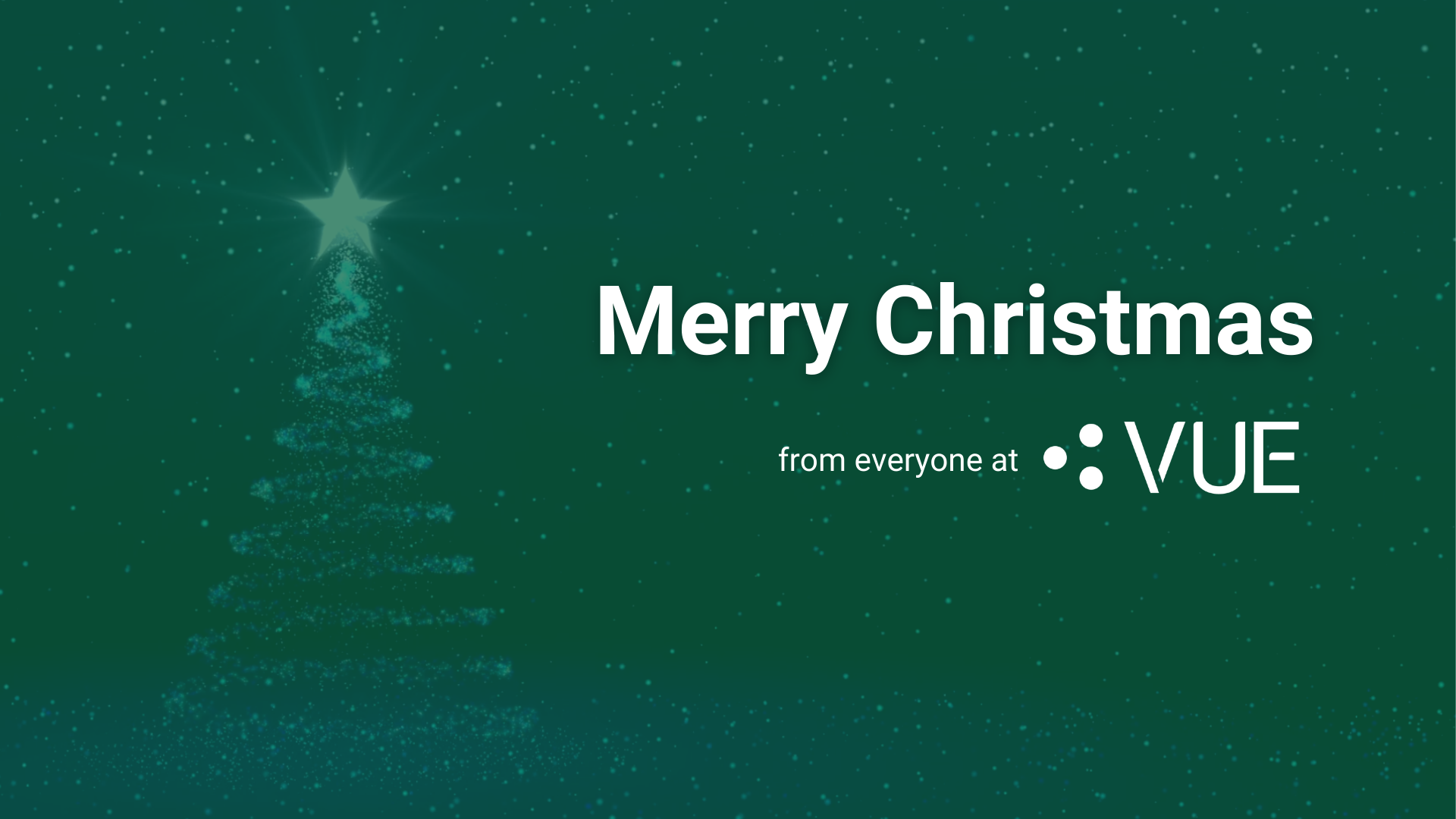merry christmas from VUE