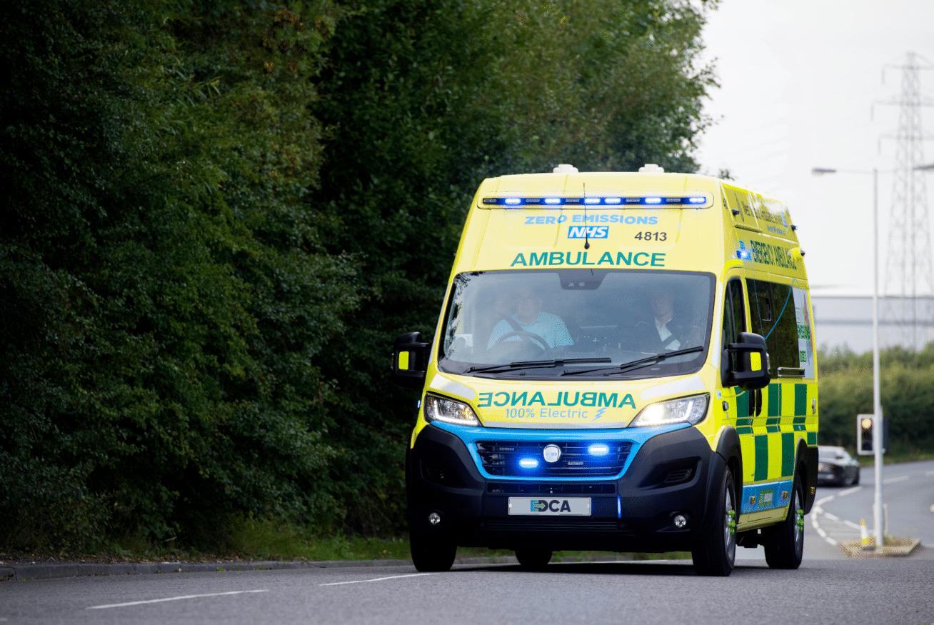 innovative video telematics wmas electric ambulance