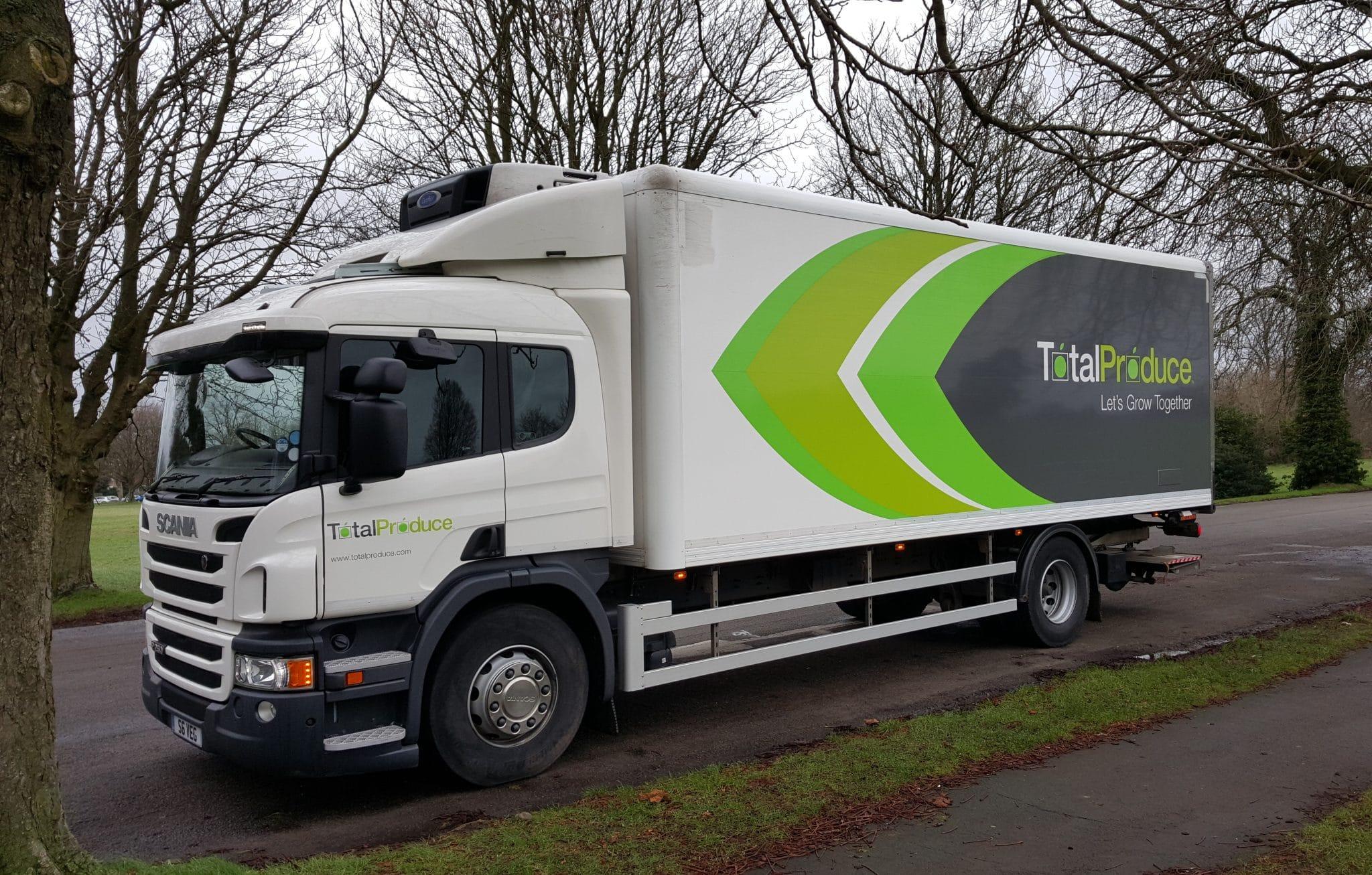 improve fleet safety total produce truck
