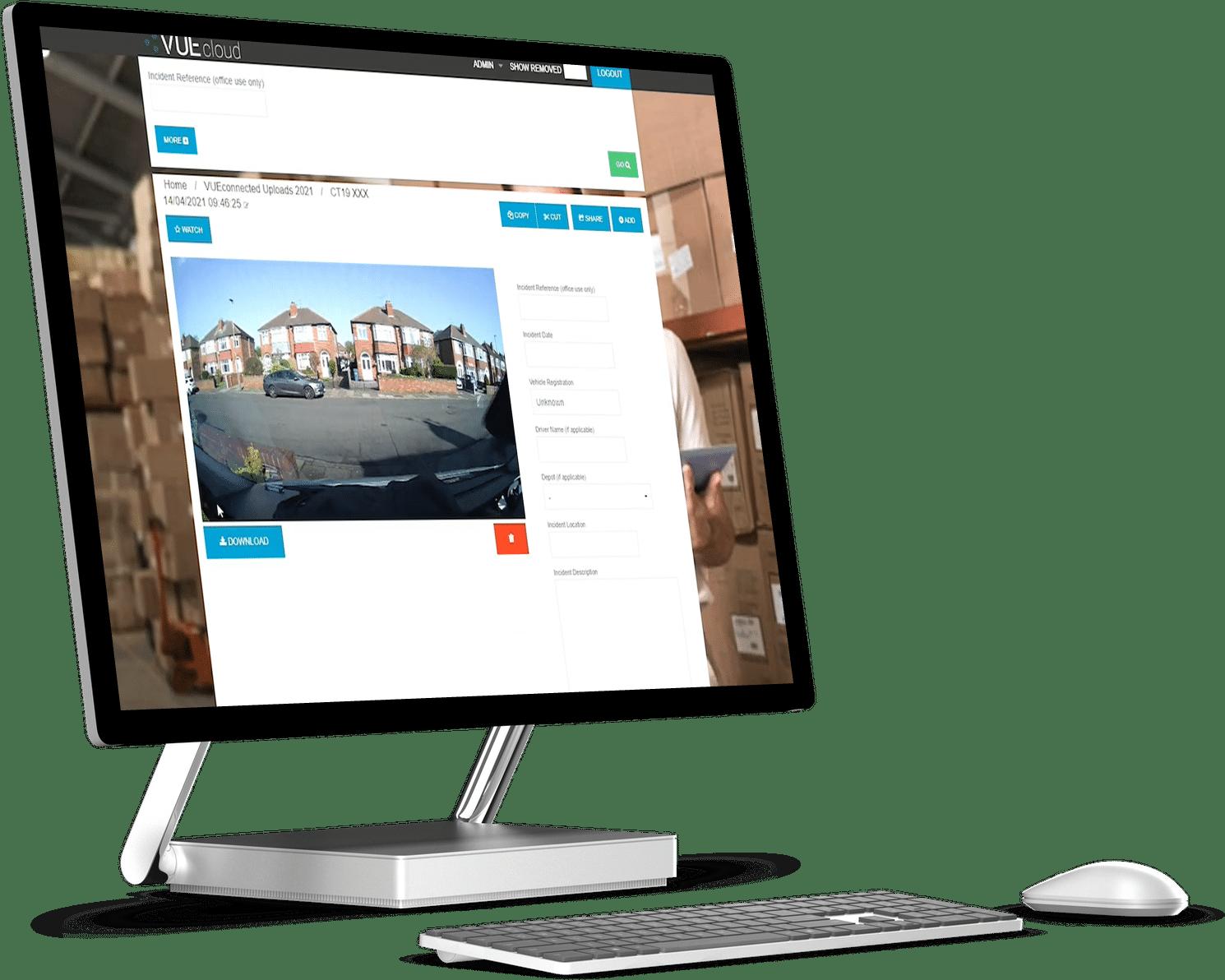 VUEcloud on Desktop